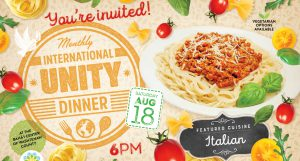 International Unity Dinner @ Bahá'í Center of Washtenaw County | Ypsilanti | Michigan | United States