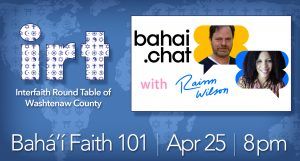 Baha'i Faith 101 with Rainn Wilson @ online
